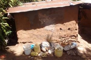 The Water Project: Futsi Fuvili Community, Shikanga Spring -  Water Containers