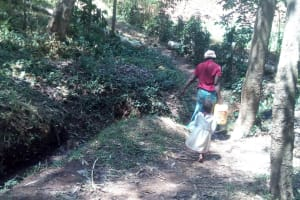 The Water Project: Elunyu Community, Saina Spring -  Walking Home