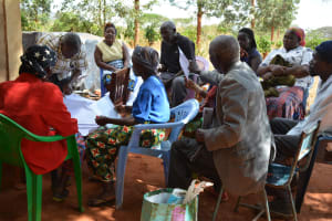 The Water Project: Mbuuni Community -  Training