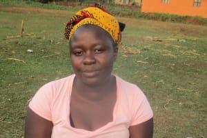 The Water Project: Wamuhila Community, Isabwa Spring -  Elizabeth Agiza