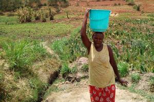The Water Project: Mukhuyu Community, Shikhanga Spring -  Balancing Water