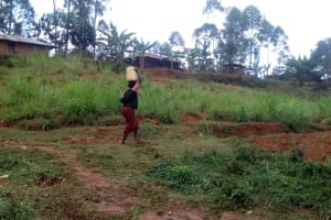 The Water Project: Simuli Community, Lihala Sifoto Spring -  Carrying Water