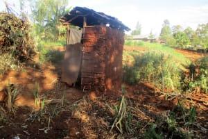 The Water Project: Wamuhila Community, Isabwa Spring -  Latrine