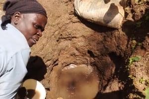 The Water Project: Mungulu Community, Zikhungu Spring -  Mrs Zikhungu