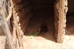 The Water Project: Irenji Community, Shianda Spring -  Latrine
