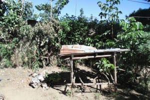 The Water Project: Shikhambi Community, Daniel Inganga Spring -  Dish Rack