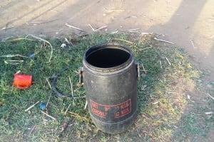 The Water Project: Mumuli Community, Shalolwa Spring -  Water Storage