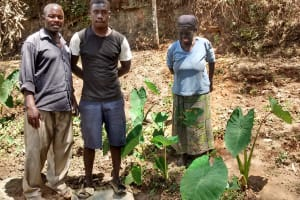 The Water Project: Mungulu Community, Zikhungu Spring -  Zikhungu Family