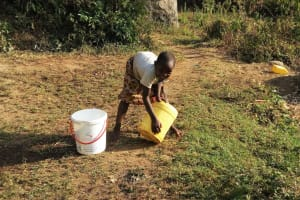 The Water Project: Shitoto Community, William Manga Spring -  Heavy Container