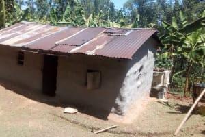 The Water Project: Elunyu Community, Saina Spring -  Household