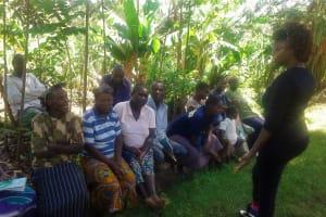 The Water Project: Eshiakhulo Community, Omar Sakwa Spring -  Training