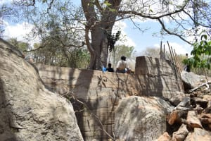 The Water Project: Waita Community -  Finishing Touches