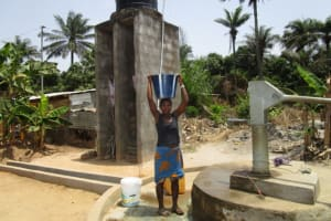 The Water Project: Rosint Community, 16 Gilbert Street -  Seasonal Well When Functional