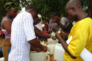 The Water Project: Victory Evangelical Church -  Making Hand Washing Stations