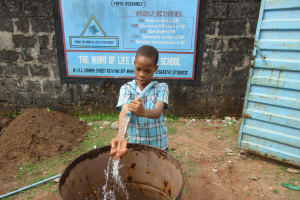 The Water Project: Word of Life Bilingual School -  Flushing