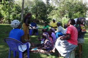 The Water Project: Murumba Community, Muyokani Spring -  Training