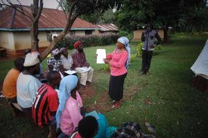 The Water Project: Mahanga Community -  Josephine Mugeha At The Training