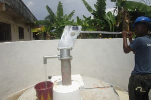 The Water Project: Word of Life Bilingual School -  Pump Installation