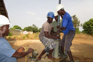 The Water Project: Victory Evangelical Church -  Work Beginning