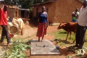 The Water Project: Elukho Community -  Sanitation Platform