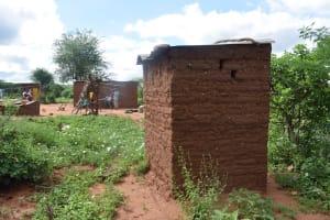 The Water Project: Ikulya Community -  Household Latrine