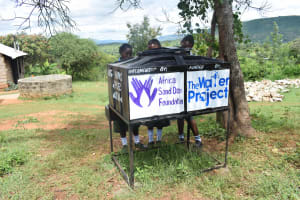 The Water Project: Muthei Secondary School -  Hand Washing