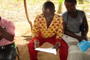 The Water Project: DEC Primary School -  Water User Committee