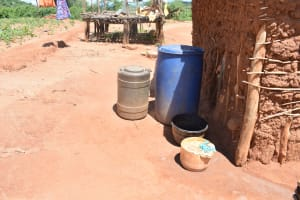 The Water Project: Nzung'u Community B -  Water Storage