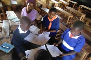 The Water Project: Ebusiloli Primary School -  Training