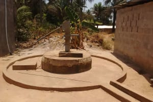 The Water Project: Rosint Community, 16 Gilbert Street -  Seasonal Well During Dry Months