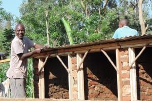 The Water Project: Ebusiloli Primary School -  Latrine Construction