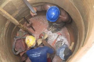 The Water Project: Tholmosor Community -  Drilling
