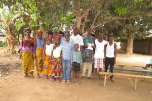 The Water Project: Malokoh Community, #4 Mabesseneh Road -  Water User Committee