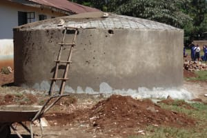 The Water Project: Ebusiloli Primary School -  Tank Construction