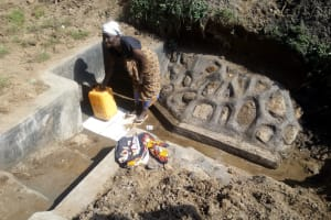 The Water Project: Emakaka Community -  Clean Water