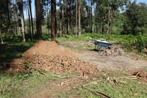 The Water Project: Murumba Community, Muyokani Spring -  Construction Materials