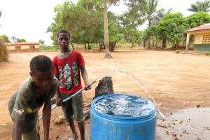 The Water Project: DEC Primary School -  Flushing