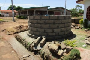 The Water Project: Tholmosor Community -  Walling The Well