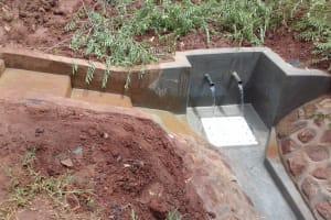 The Water Project: Visiru Community, Kitinga Spring -  Kitinga Spring
