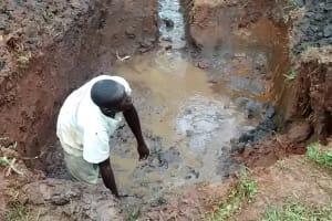 The Water Project: Mahanga Community -  Excavation