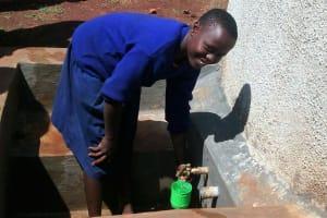 The Water Project: Ebusiloli Primary School -  Deborah Samoka Wash President