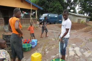 The Water Project: Malokoh Community, #4 Mabesseneh Road -  Flushing
