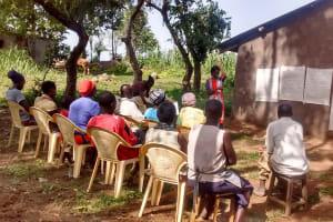 The Water Project: Elukho Community -  Training