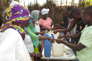 The Water Project: Petifu Junction Community -  Hand Washing Session