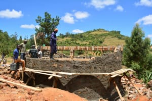 The Water Project: AIC Mutulani Secondary School -  Construction Phase