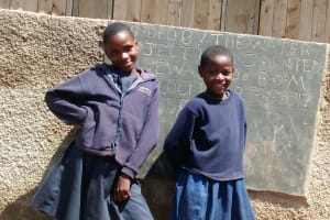 The Water Project: Ebusiloli Primary School -  Finished Latrines