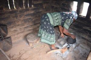 The Water Project: Ikulya Community -  Household Kitchen