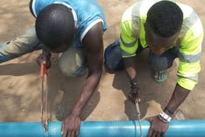 The Water Project: DEC Primary School -  Drilling