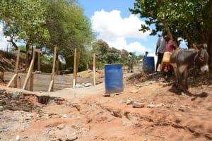 The Water Project: Syakama Community -  Construction Phase