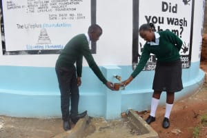 The Water Project: AIC Mutulani Secondary School -  Finished Tank
